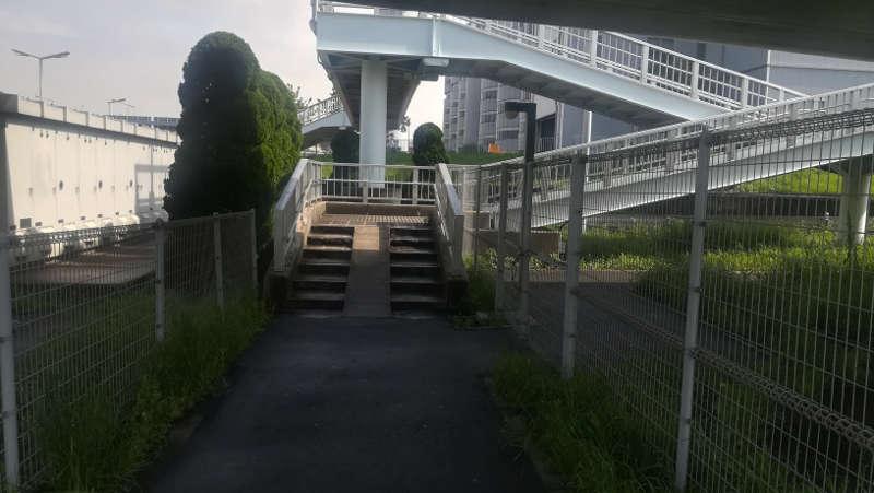 東京国際空港庁舎前歩道橋3
