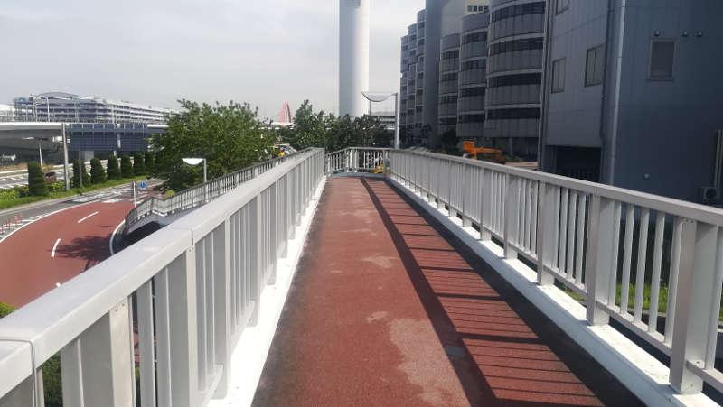 東京国際空港庁舎前歩道橋4