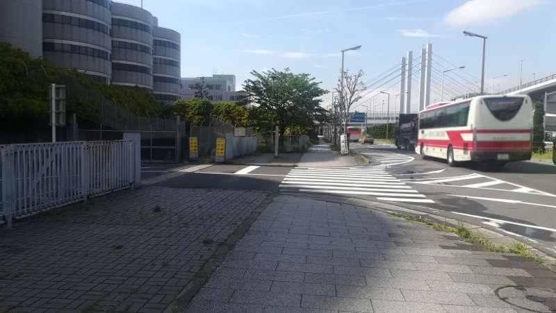 東京国際空港庁舎前歩道3