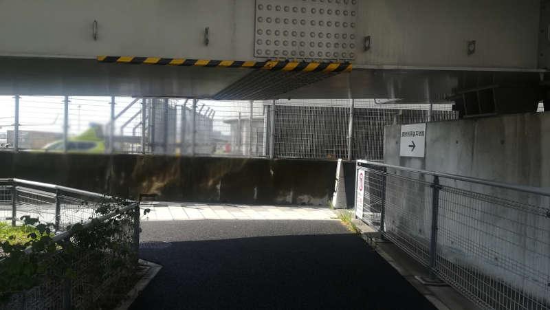 東京国際空港庁舎前歩道14