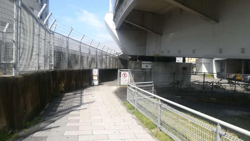 東京国際空港庁舎脇歩道1