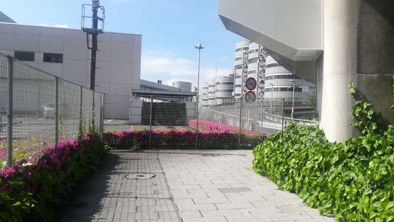 羽田空港 国内線第1旅客ターミナルビル 北エントランス前2