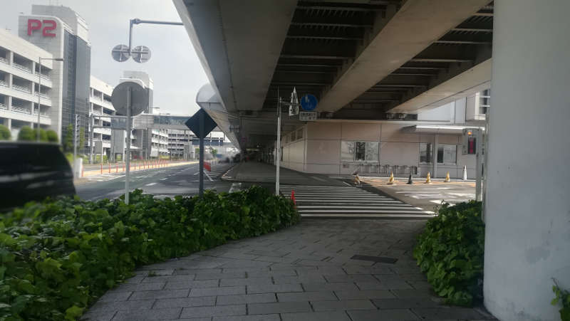 羽田空港 国内線第1旅客ターミナルビル 北エントランス前8