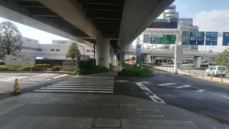 羽田空港 国内線第1旅客ターミナルビル 北エントランス前