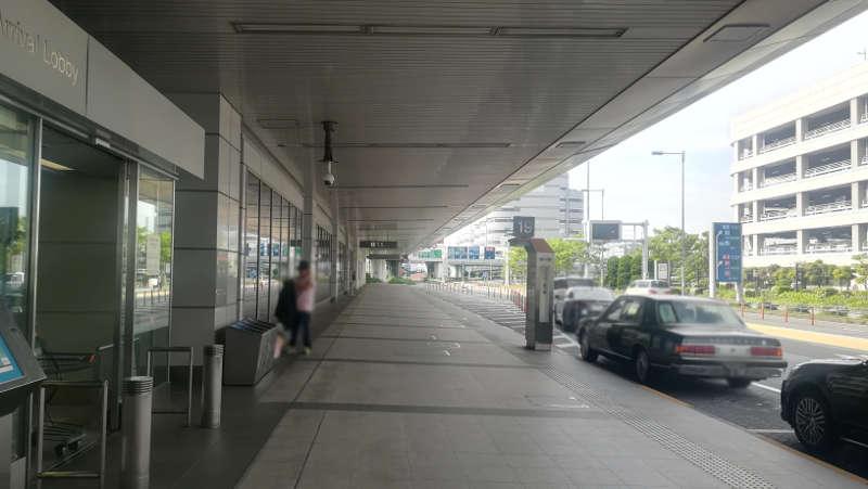 羽田空港 国内線第1旅客ターミナル前2