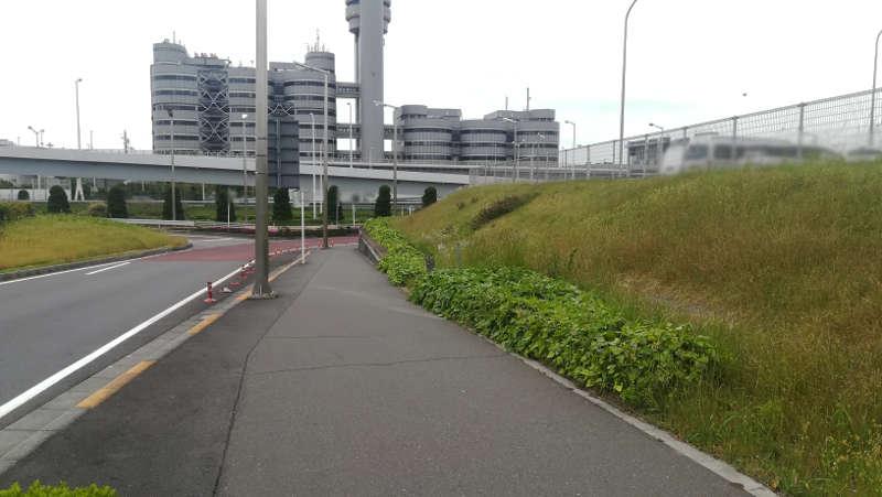 羽田空港 第2旅客ターミナル北ピア前歩道3