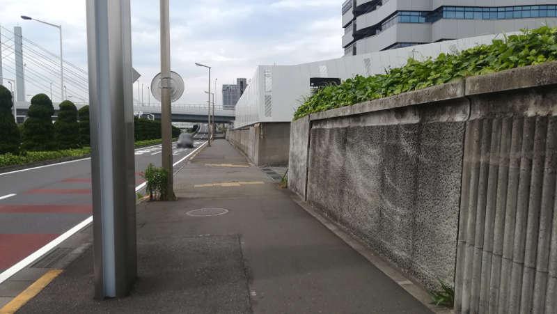 羽田空港 第2旅客ターミナル北ピア前歩道4