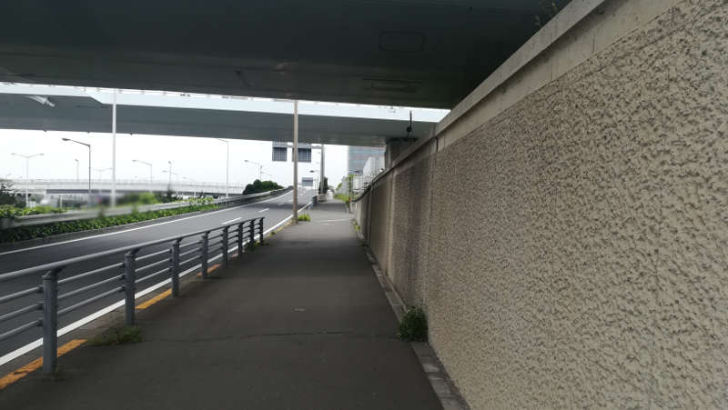 羽田空港 東貨物ターミナル前歩道