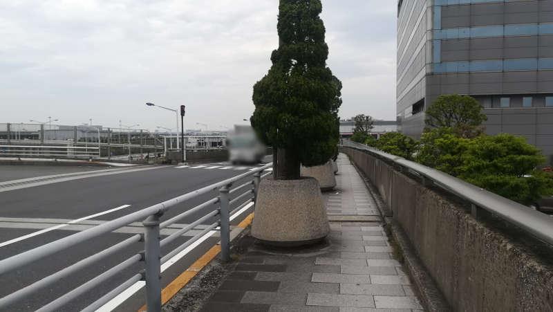 羽田空港 東貨物ターミナル前歩道3